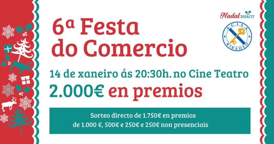 Cartel VI Festa do Comercio