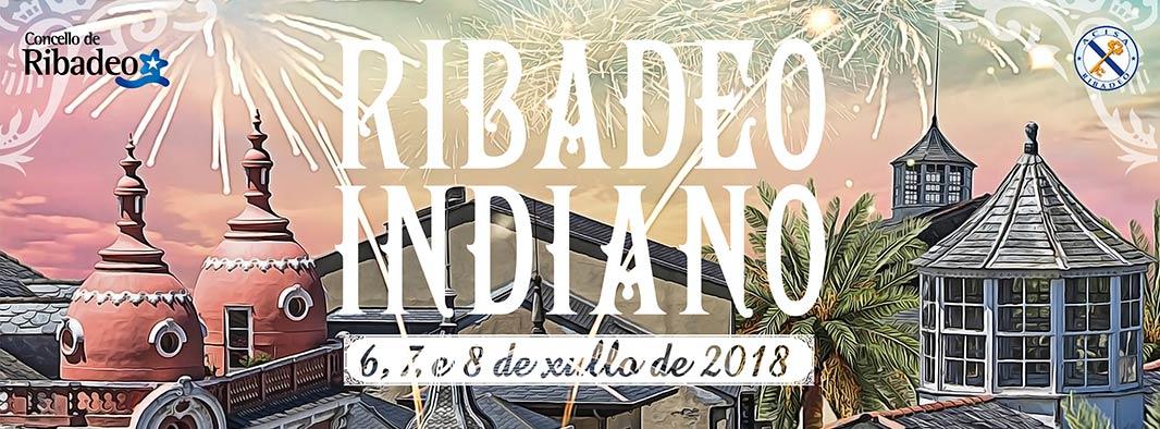 Comeza a conta atrás para a celebración do V Ribadeo Indiano, que terá lugar do 6 ao 8 de xullo