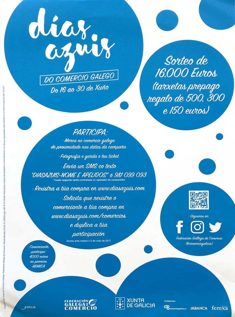 Chegan os Días Azuis do comercio galego a Ribadeo