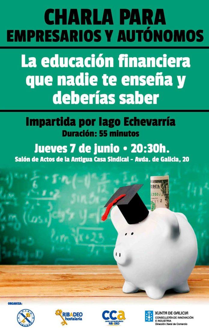 ACISA organiza una charla dirigida a empresarios y autónomos sobre educación financiera