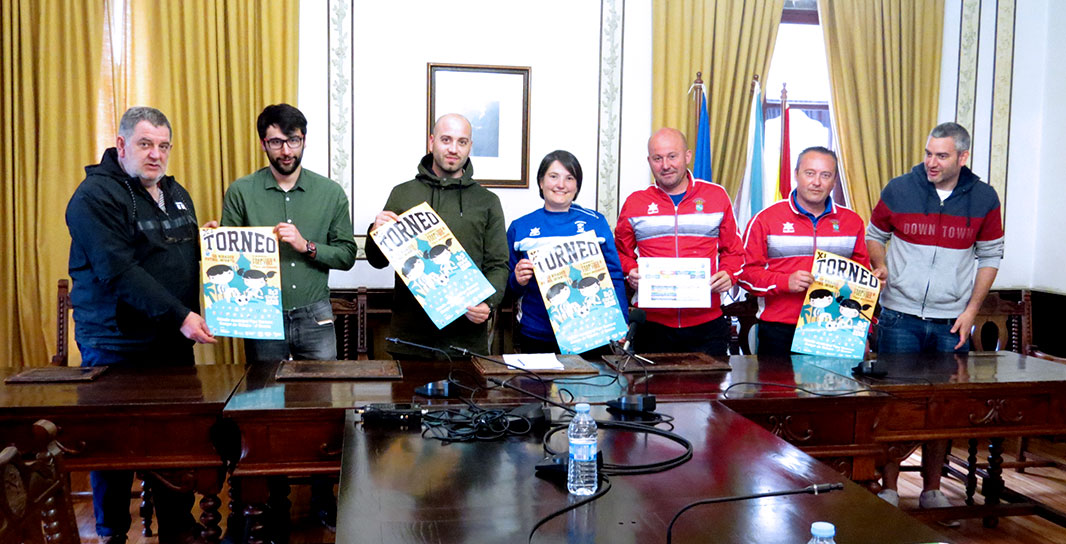 ACISA Ribadeo colabora cos torneos infantís da SD Ribadeo