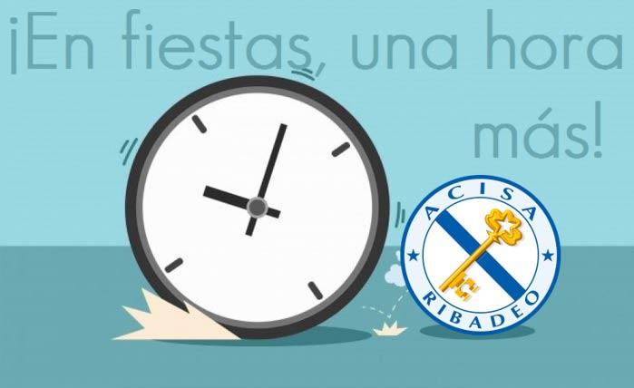 Os establecementos de hostalería asociados a ACISA poderán ampliar o seu horario de apertura durante as festas patronais