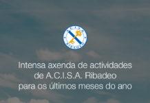 Intensa axenda de actividades de A.C.I.S.A. Ribadeo para os últimos meses do ano
