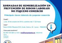 Xornadas de sensibilización en prevención de riscos laborais no pequeno comercio