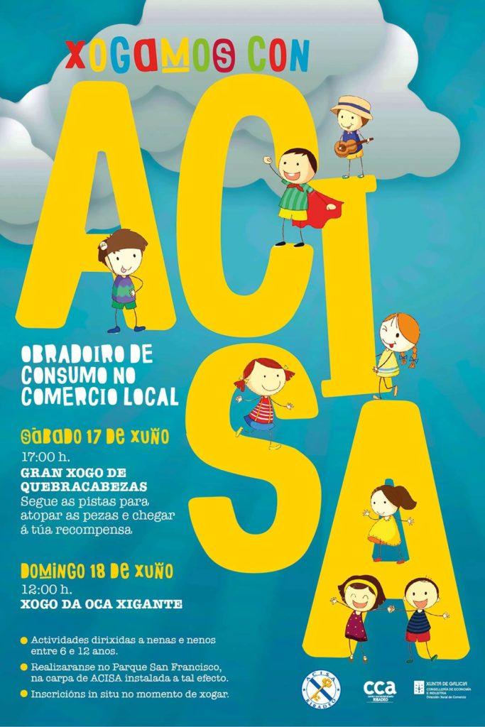 Xogamos con A.C.I.S.A. | Obradoiro de consumo no comercio local