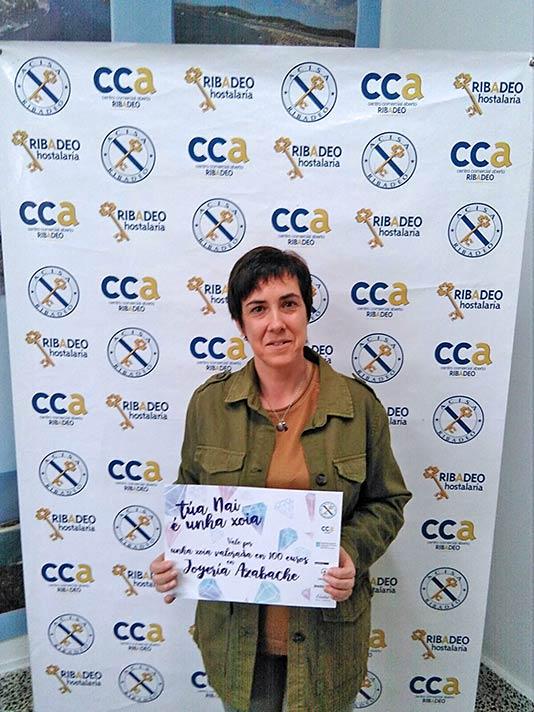 Mª del Rosario Delgado premio Azabache