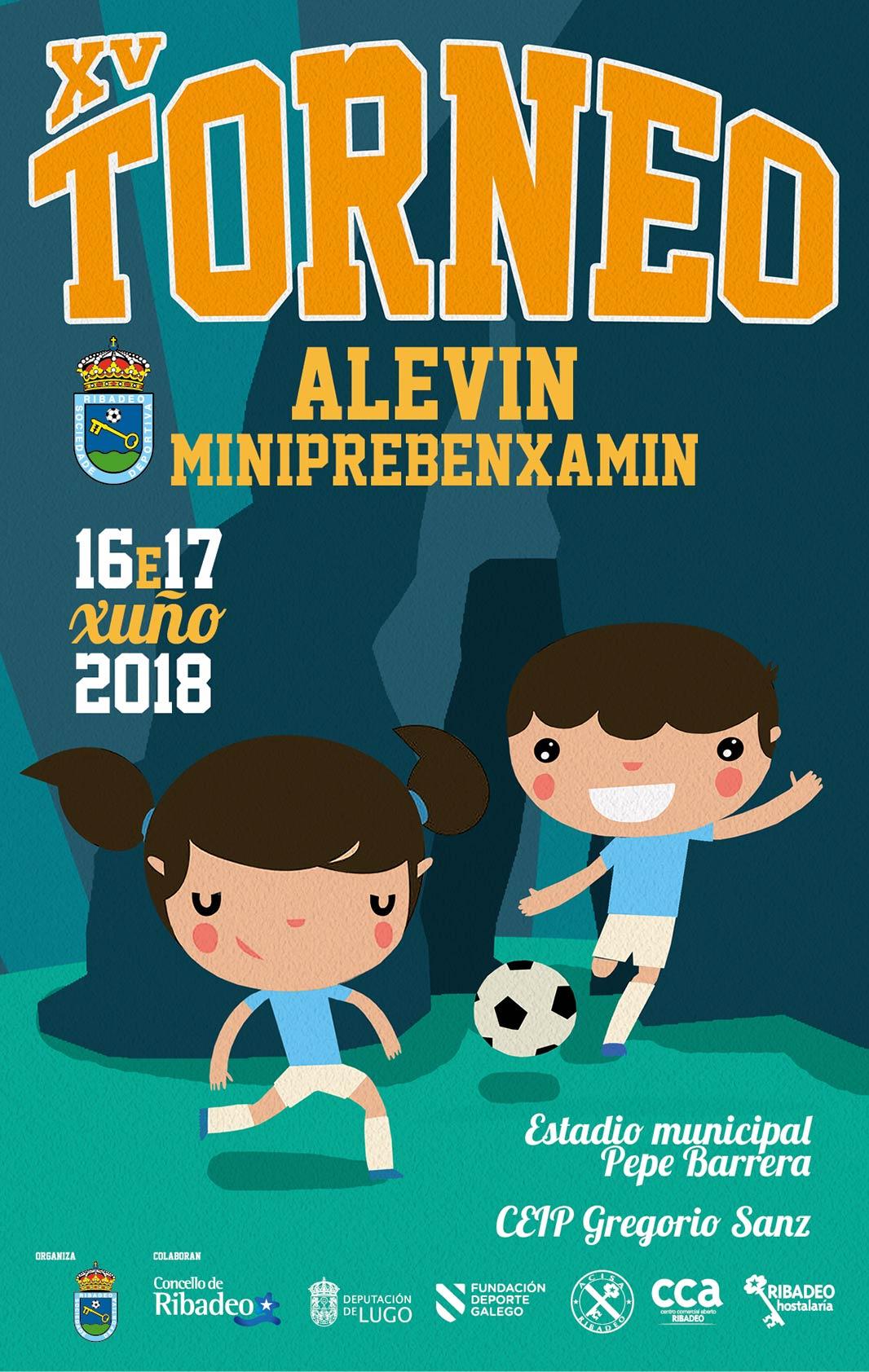 XV Torneo de Fútbol Base Alevín e Miniprebenxamín