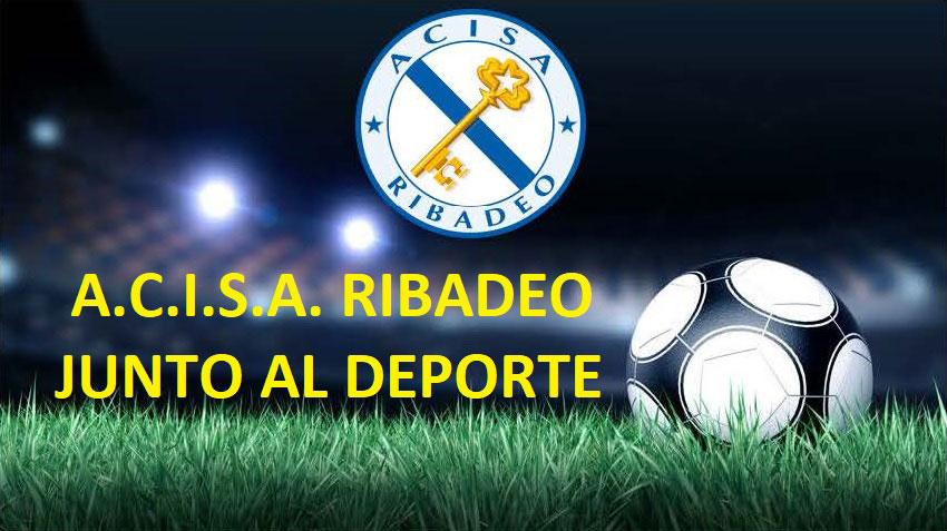 A.C.I.S.A. Ribadeo colabora con los grandes eventos deportivos de la villa