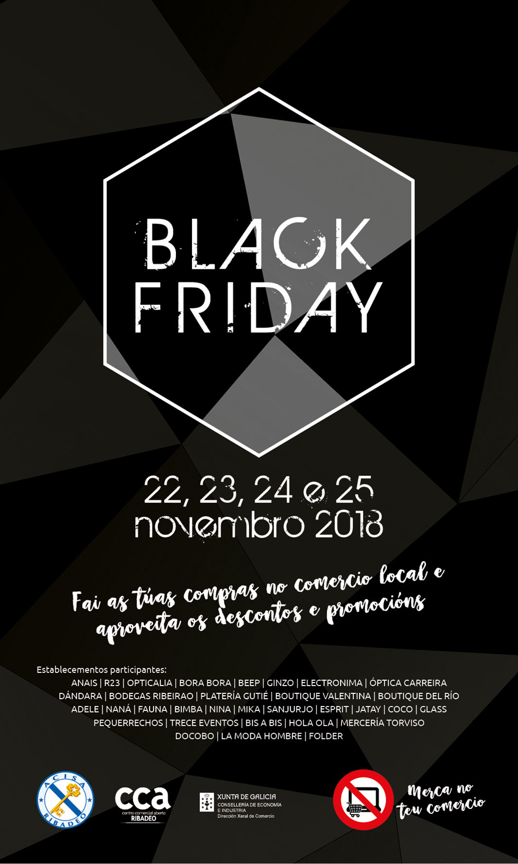 Black Friday en ACISA Ribadeo