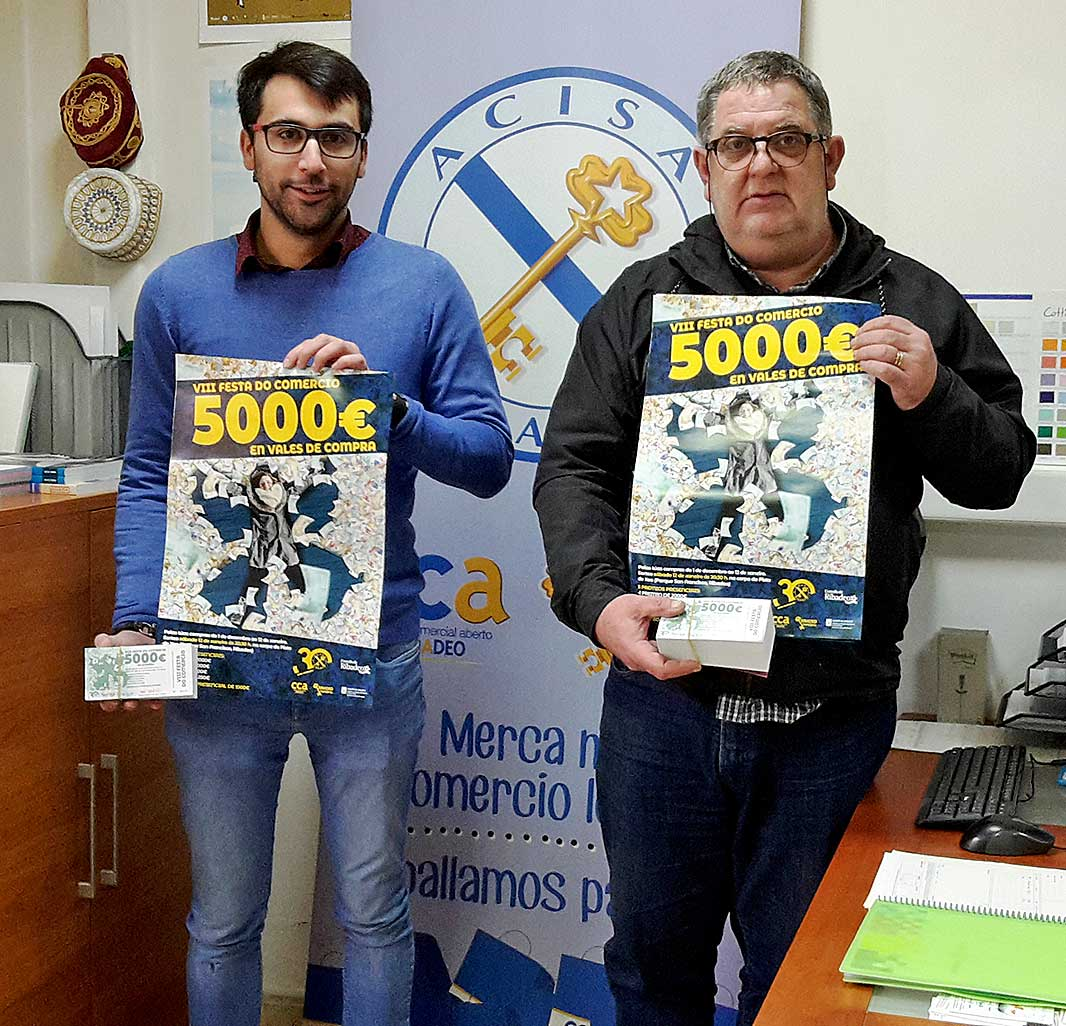 VIII Festa do Comercio con 5.000 euros en premios