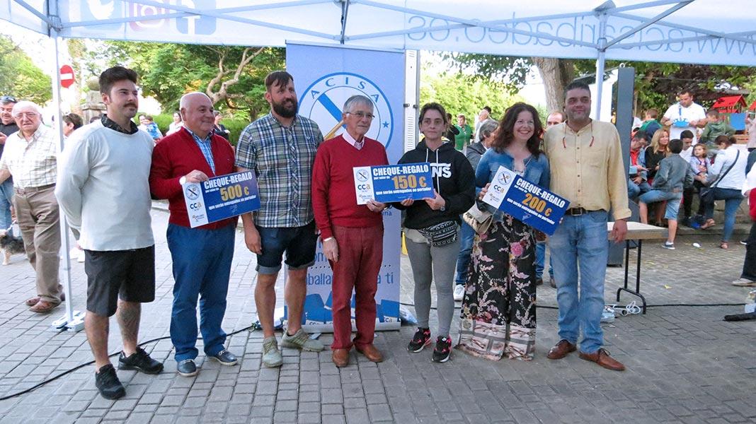 Entrega de premios campaña de fidelización de A.C.I.S.A. Ribadeo