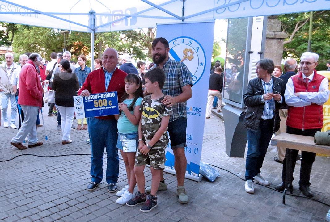 500 euros en vales de compra levouno Domingo Martínez Díaz