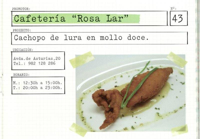 Cafetería Rosa Lar