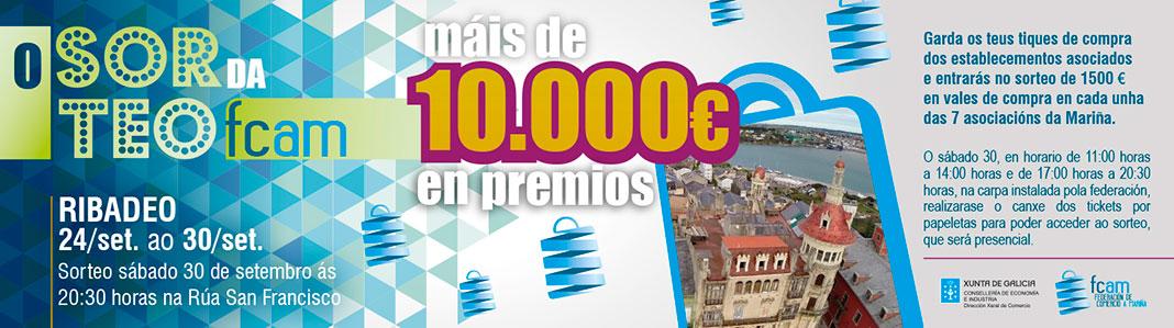 Sorteo FCAM con más de 10.000 euros en premios | Ribadeo