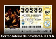 Participa en el sorteo de 5 décimos de lotería de navidad